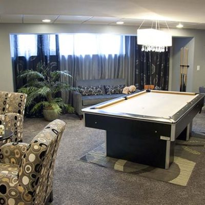 The basement can be an exciting space because it can offer up to 50 percent more living space.